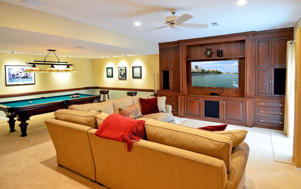 Recreation Room Sight And Sound Systems