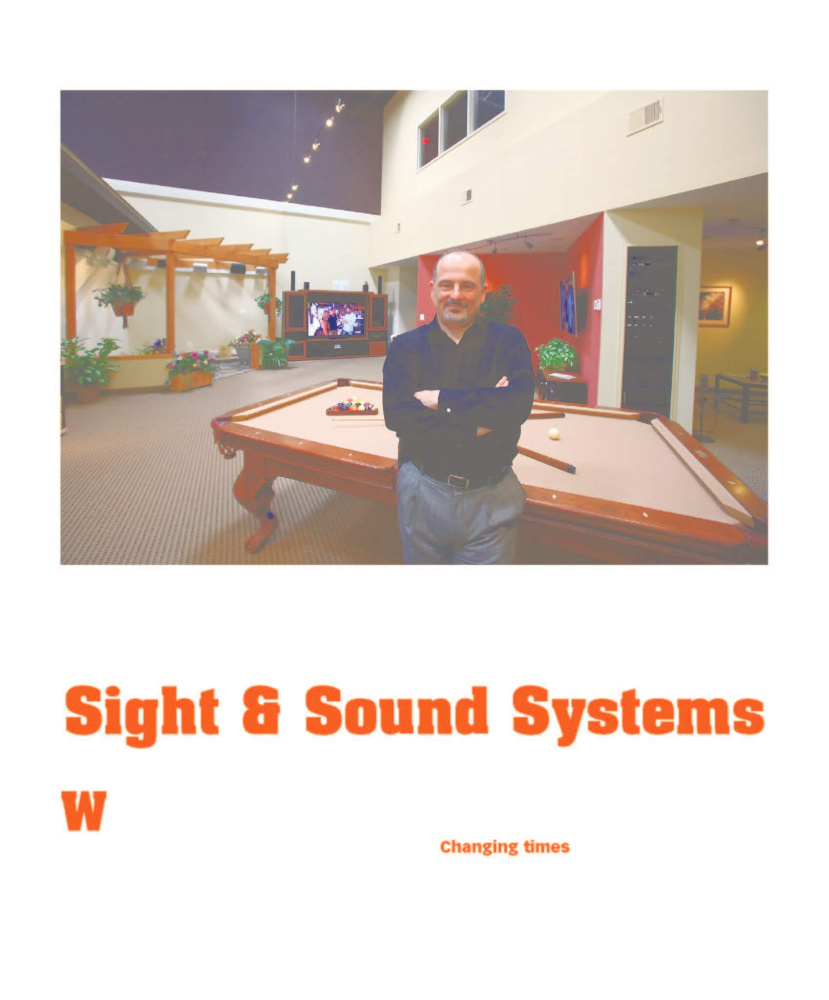sight and sound systems bankruptcy